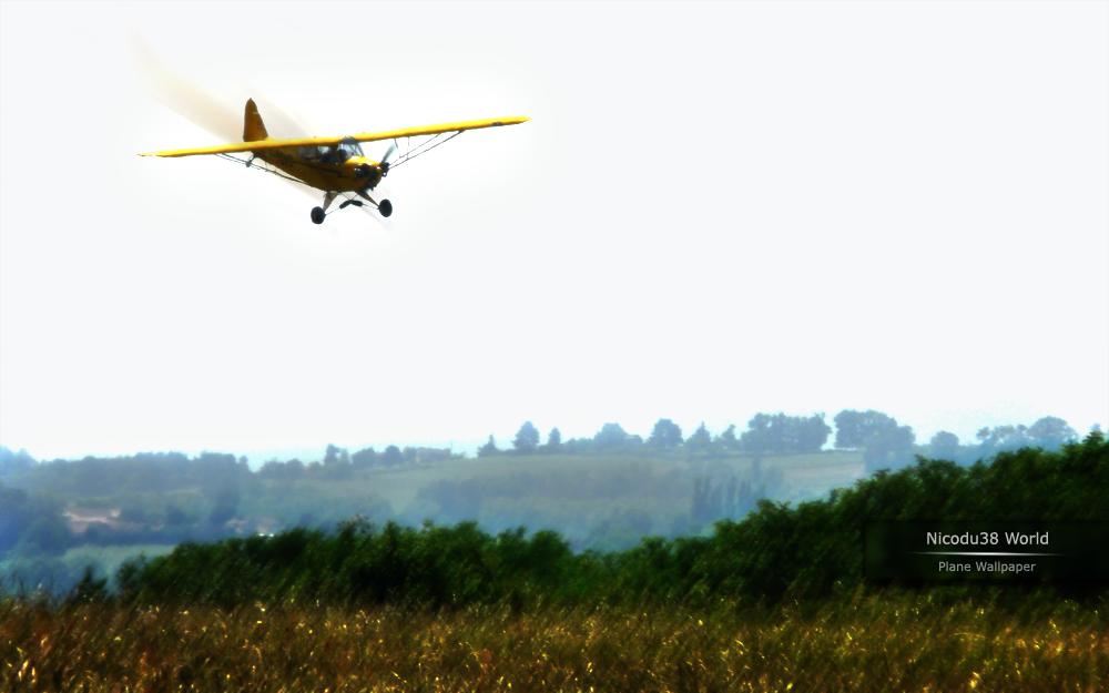 Plane Wallpaper Nicodu38 World